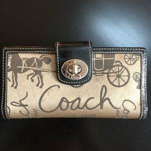 🐎 Coach Wallet